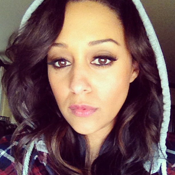 Tia Mowry Wears A Hoodie In Support of Trayvon Martin