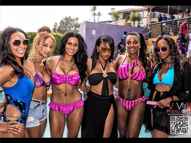 Basketball Wives LA | Season 2 Pool Party
