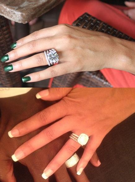Evelyn lozada engagement ring from ochocinco