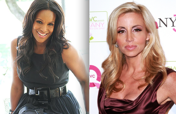 Tameka Raymond & Camille Grammer ? The Ex-Wives Club