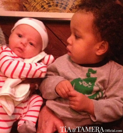 Tia Mowry-Hardrict: 'Cree Gets A Little Jealous Of Aden'