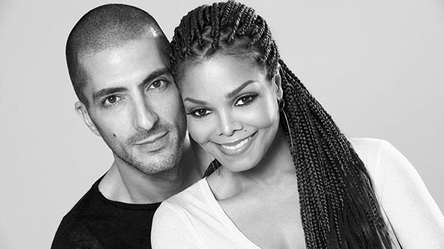 Wissam Al Mana & wife Janet Jackson