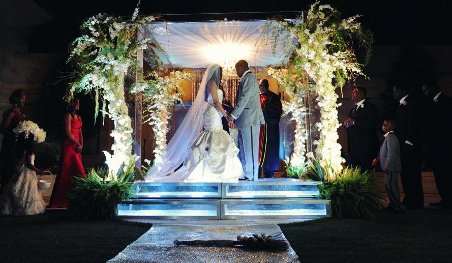 Porsha Amp Kordell Stewarts Wedding Pictures Amp Video