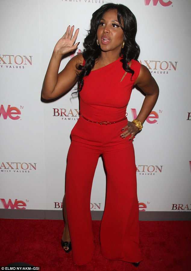 the braxtons on the red carpet for braxton family values