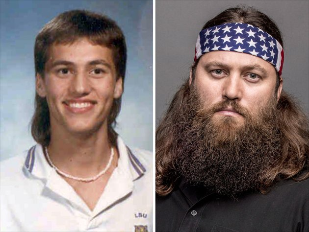 Duck Dynasty Cast Before the Beards -