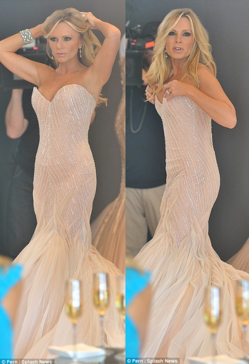 Tamra Barney Tries On Wedding Dresses For Her Spin-Off -