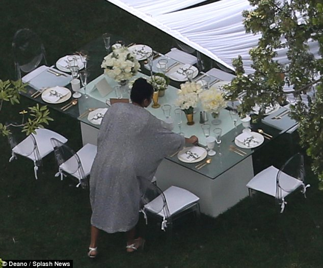 kim kardashian s baby shower is taking place right now check out