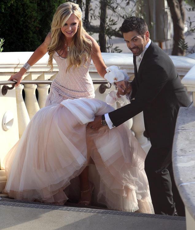 Tamra Barney Wedding Bouquet