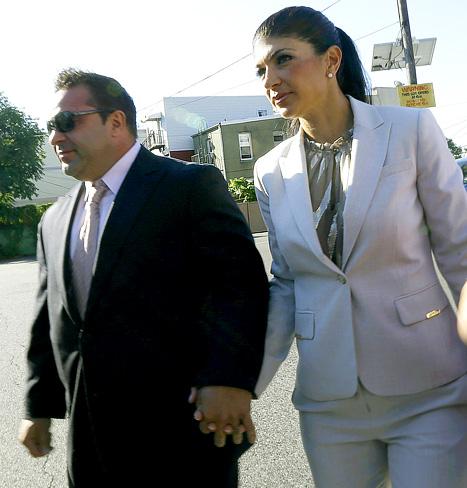"Teresa Giudice, 41, and her husband, Joe Giudice, 43, stars of ""The ..."