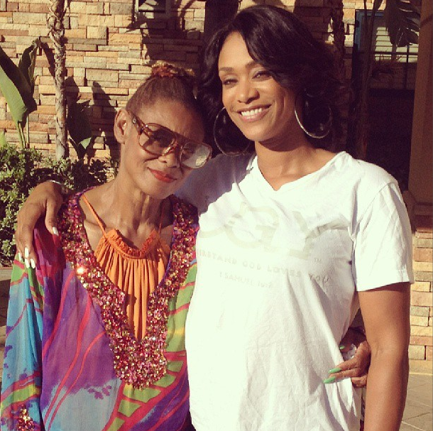 Tami Roman's Mourns The Death Of Her Mother Nadine Buford -