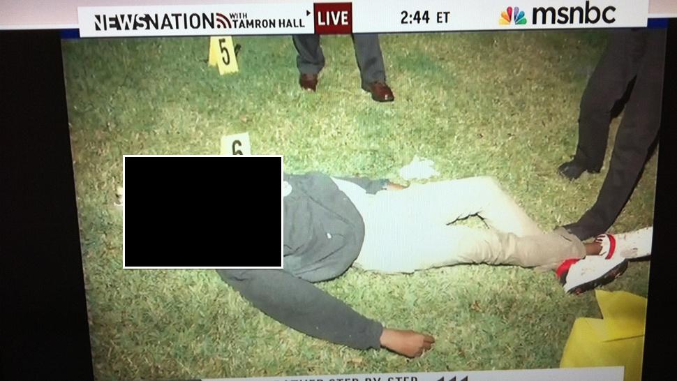 Trayvon martin body