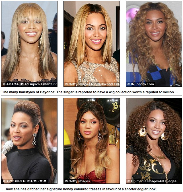 Kimble Hair Salon Los Angeles: Beyonce Knowles Debuts New Pixie Hairstyle
