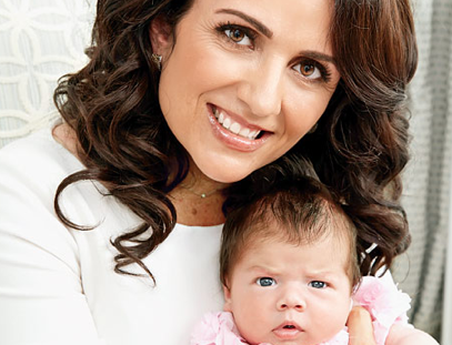 Jenni Pulos Debuts Baby Daughter Alianna