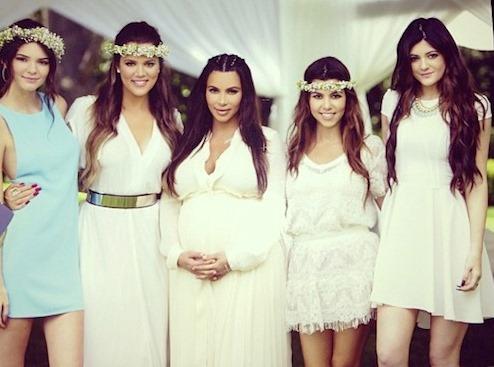 khloe kardashian baby shower dress keeping up with the kardashians