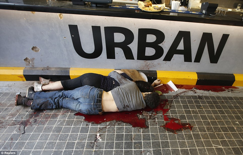 Warning Graphic Images: Kenyan Mall Massacre That Killed At Least.
