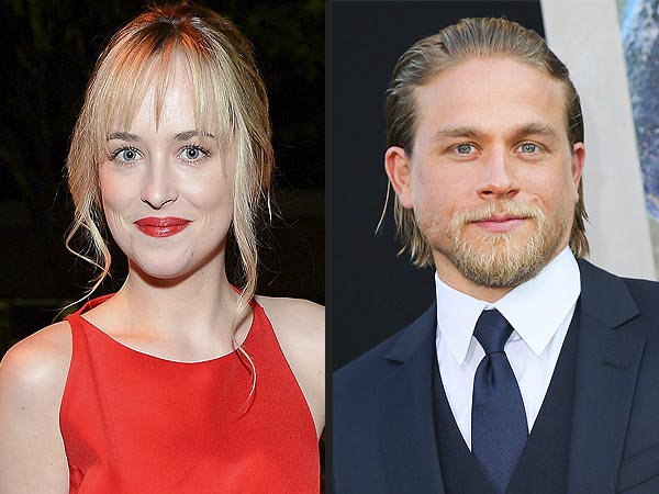 'Fifty Shades Of Grey' Casts Charlie Hunnam & Dakota Johnson