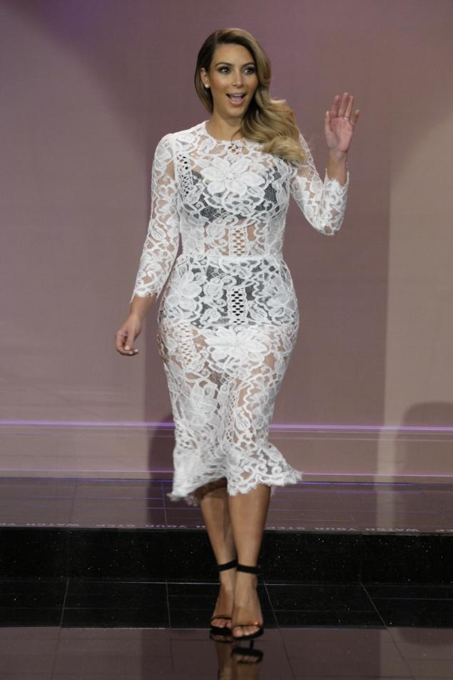 Kim also revealed that after marriage she will be changing her middle ...