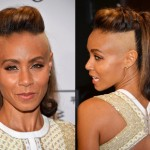 Jada Pinkett Smith Shaves & Bleaches The Sides Of Her Head