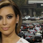 Kim Kardashian Pulled Over On L.A. Freeway Fleeing Paparazzi