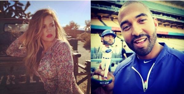 Khloe kardashian matt kemp dating