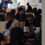 Amina Buddafly & Peter Gunz Spotted At A Medicaid Office