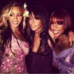 Beyonce Crops Kelly Out Of Aaliyah Picture, She's Labelled A Hater