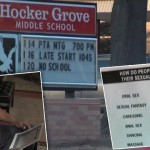 Father Upset With Terms On School's Sexual Education Poster