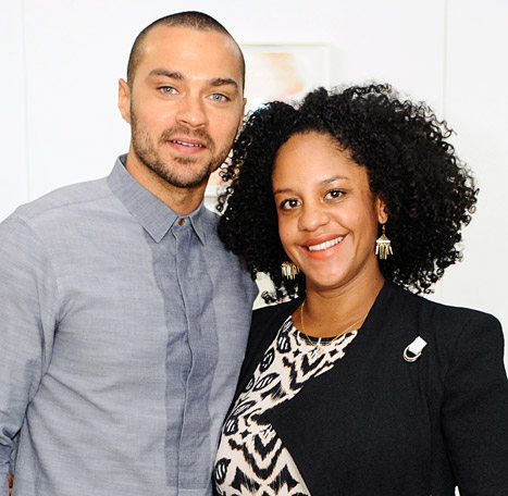 Grey S Anatomy Star Jesse Williams Amp Wife Aryn Drake Lee Welcome Daughter Sadie