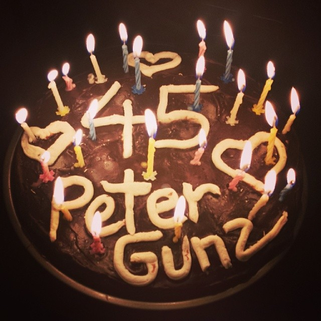 peter gunz birthday cake