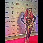Karlie Redd At The Maserati Pre-Super Bowl Fashion Show