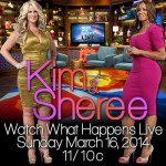 Kim Zolciak Biermann & Sheree Whitfield Appearing On WWHL 3/16/14