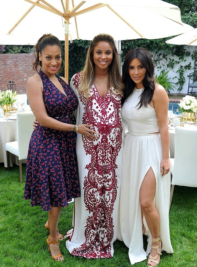 ciara s celebrates her baby shower with lala anthony kim