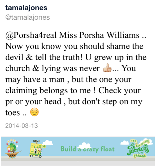 tamala jones tweet