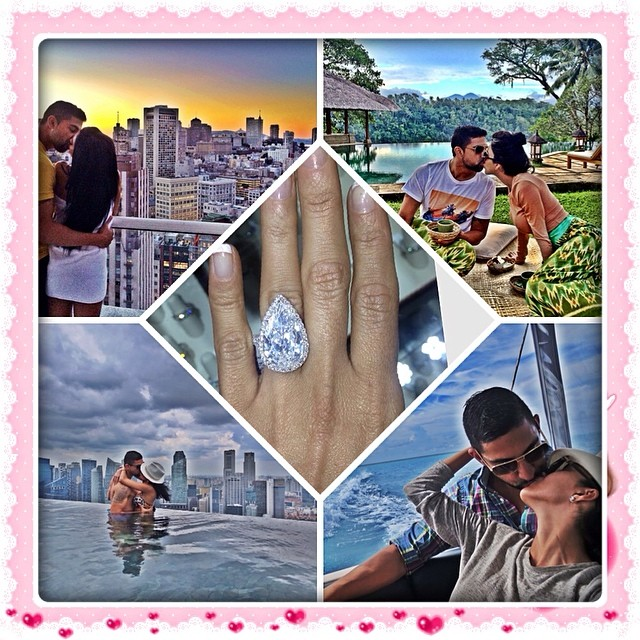 Lilly Ghalichi-engagement ring