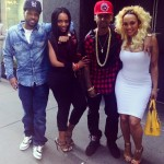 Mendeecees Harris, Yandy Smith, Juelz Santana & Kimbella's Double Date