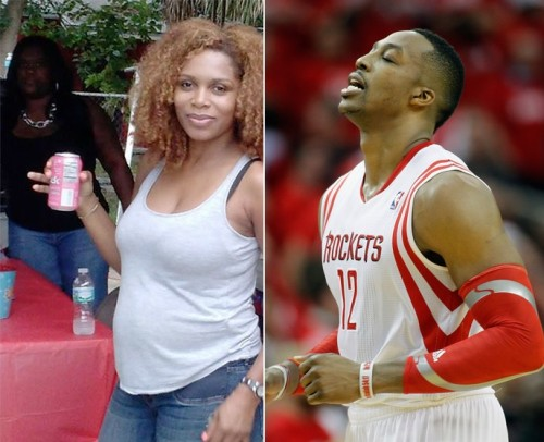 Baby mama-Dwight Howard