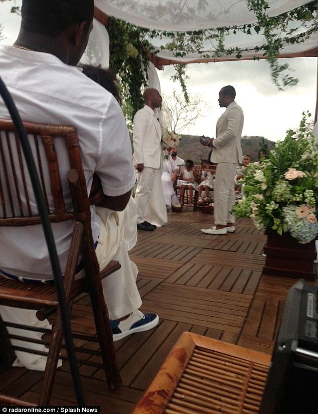 Kelly Rowland-wedding