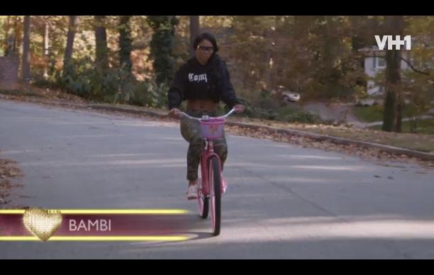 bambi-pink bicycle-rw