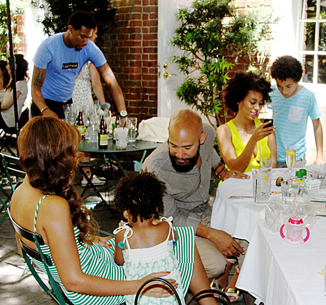 beyonce-solange knowles-blue ivy-alan ferguson-juelz smith