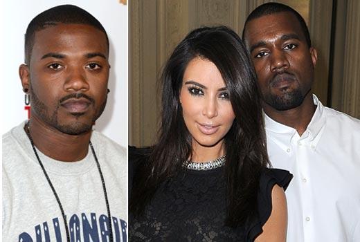 ray j gives kim kardashian amp kanye west porn profits for