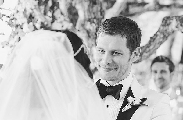 A Glance Back When Joseph Morgan Married His Wife In An ... |Persia White And Joseph Morgan Wedding