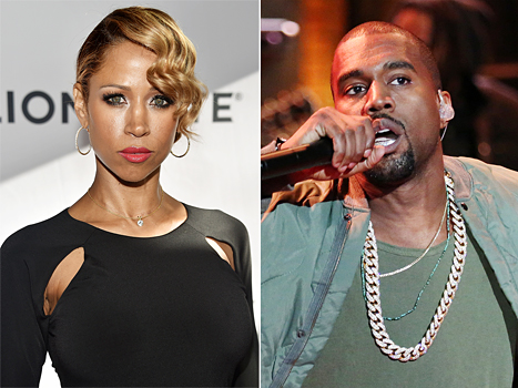 Stacey Dash and kanye west