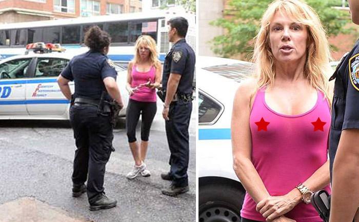 Ramona Singer-Police