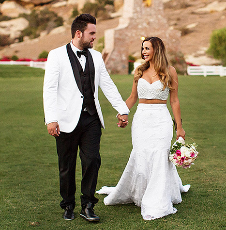 Jana Kramer New Boyfriend >> PHOTOS: Vanderpump Rules Star Scheana Marie Marries Fiance Michael Shay