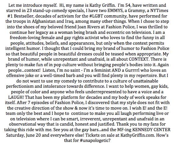 Kathy Griffin-twitter note