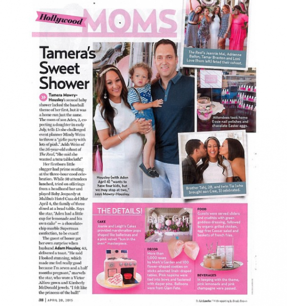 photos see tamera mowry housley 39 s pretty in pink baby shower