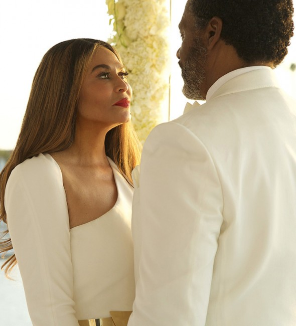photos tina knowles gets married again to richard lawson