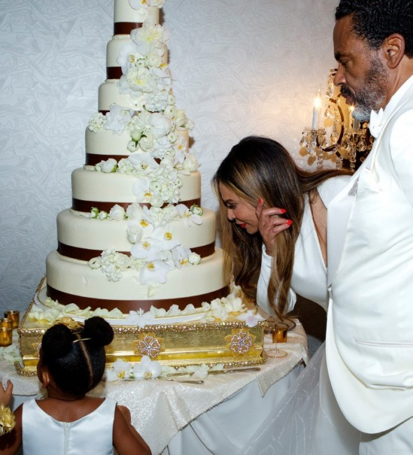 Photos tina knowles get s married again to richard lawson