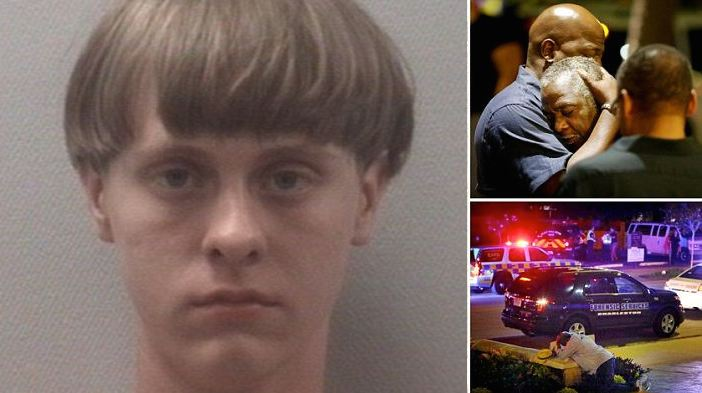 video  dylann roof  21  killer of nine  taken into police