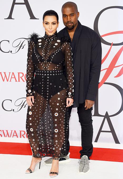 Kim-Kardashian-Kanye-West-CDFA Fashion Awards-2015-lg